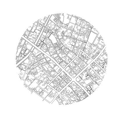 市場街マップの円